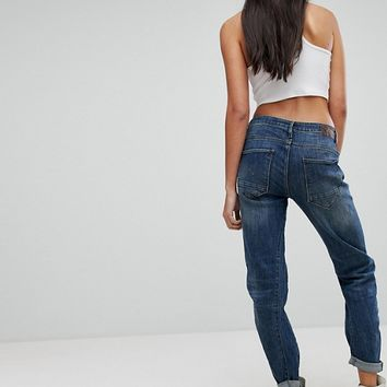 G-Star Be Raw Arc 3D Tall Low Rise Boyfriend Jean at asos.com
