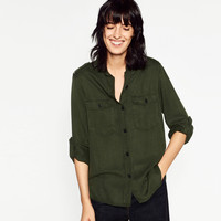 #JOINLIFE MILITARY-STYLE SHIRT DETAILS