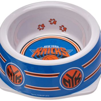 New York Knicks Slam Dunk Small Pet Bowl