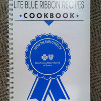 "Vintage cookbook ""From the Employees of BlueCross BlueShield of Iowa"" Summer 1993"