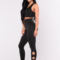 Ondina High Rise Legging - Black