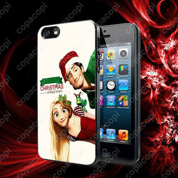 Tangled Rapunzel Punk Love Merry Christmas case for iPhone 4, 4S, 5, 5S, 5C and Samsung Galaxy s2, S3, S4