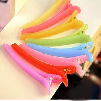 50Pcs Plastic Hair Clips Salon Hairclip For Women Hairpin Hair Pins Barrettes For Hair Holder Accessories Headwear Headdress