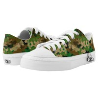 Camoflage-Style Low-Top Sneakers for Men and Women