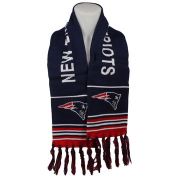 New England Patriots Fan Knit Scarf