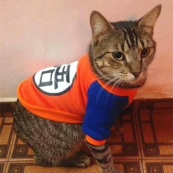 Warm Cat Clothes for Cats Funny Pet Costume Hoodie Cute Animal Clothing for Cats Coat Sweater Lovely Dog Clothes Pet Apparel 1b2