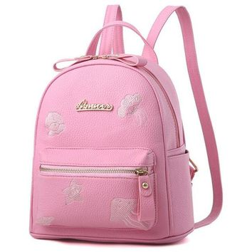 University College Backpack New Woman Shoulder Bags High Quality PU leather Totes Satchel  shoulder bag  casual s  AT_63_4