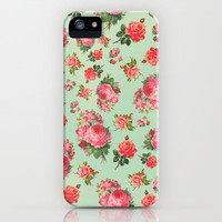 FLORAL PATTERN iPhone Case by Allyson Johnson