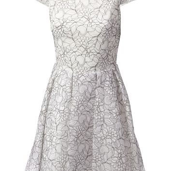 Alice+Olivia Floral Lace Dress