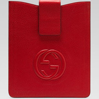 GUCCI - Soho iPad Case in Red