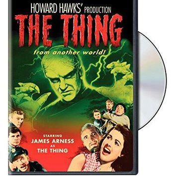 Christian Nyby & James Arness & Margaret Sheridan-The Thing from Another World