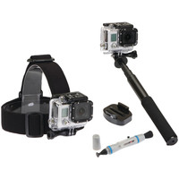 Sunpak 4-piece Action Camera Accessory Kit