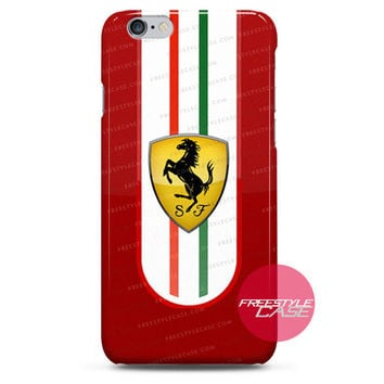 Ferrari Plan Rival To McLaren 570S And Mercedes iPhone Case 3, 4, 5, 6 Cover