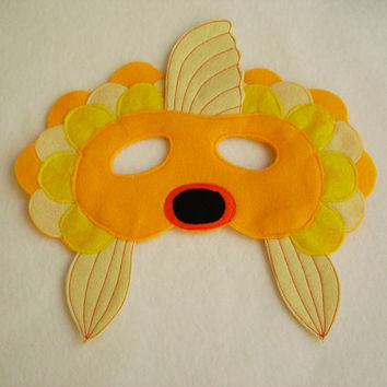 Children's Goldfish Felt Mask, What Does The Fox Say
