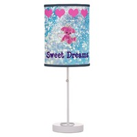 Sweet Dreams Angel Bear Table Lamp