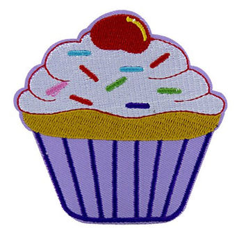Sexy Cupcake 2 Broke Girls Patch Iron on Applique Alternative Clothing
