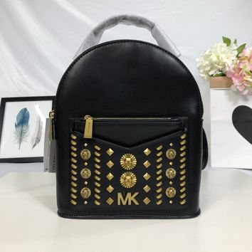 2020 New Office MK Michael Kors MEN Women Leather black Backpacks Monogram Handbag Neverfull Bags Tote Shoulder Bag Wallet Purse Bumbag satchels buket TRAVEL luggage Back pack Best Quality