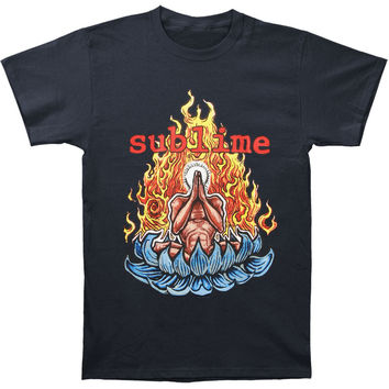 Sublime Men's  Sitting Guy T-shirt Blue Rockabilia