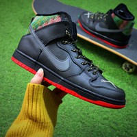 Nike SB Dunk High Pirate Pole Shoes Silver Sneaker - Best Online Sale