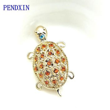 cute turtle brooches, BLING rocks, women charm, hip-hop jewelry, gifts