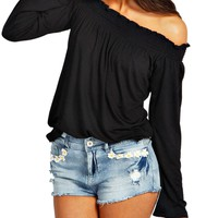 Womens Off Shoulder Tops