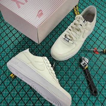 Dover Street Market X Nike Air Force 1 Xxx 30th White Fashion Shoes - Best Online Sale