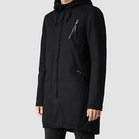 Mens Datton Parka (Ink) | ALLSAINTS.com