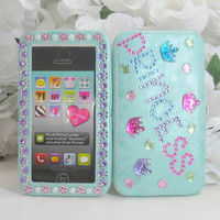 Princess Accessories - Princess Gifts - Girls Birthday - Iphone 4 Case - Iphone Cover - Samsung Android - Blackberry - Smart Phones