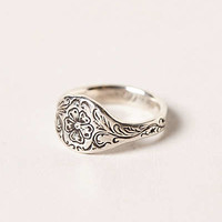 Engraved Posey Ring