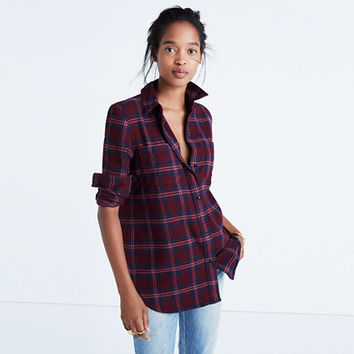 Flannel Classic Ex-Boyfriend Shirt in Jensen Plaid