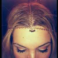 Custom hair chains. Made to order. Your designs and choice. Custom head chains, gypsy hair, egyptian hippie boho hair jewelry.