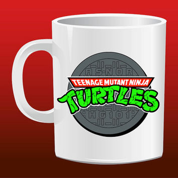 Teenage Mutant Ninja Turtles Logo for Mug Design