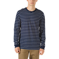 Milton Stripe Long Sleeve T-Shirt | Shop Mens Tees At Vans