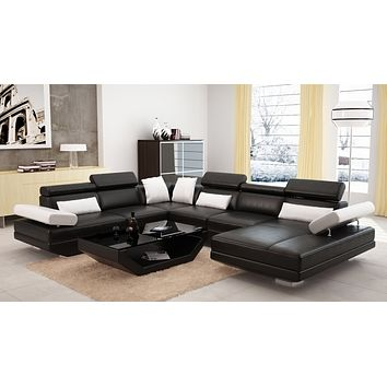 Luxury Modern Rosia sofa leather classic french furniture