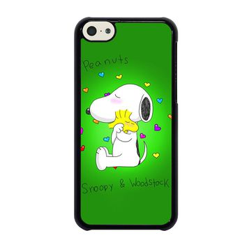 PEANUTS SNOOPY AND WOODSTOCK iPhone 5C Case