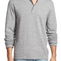 Men's Lucky Brand 'Duofold' Double Faced Knit Long Sleeve Henley,