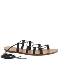 J.Crew Womens Leather Lace-Up Sandals