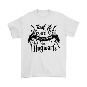 DCCKON7 Just A Wizard Girl In Love With Hogwarts Harry Potter Shirts