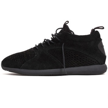 Quest Mid Sneakers Black Suede