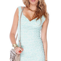 Skip to My Lace Dress in Mint :: tobi