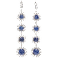 One-Of-A-Kind Blue Sapphire Drop Earrings | Moda Operandi