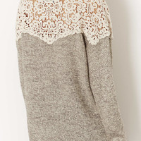 **Wool Jumper by Navy - Knitwear - Clothing - Topshop USA