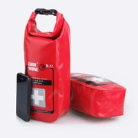 Red Waterproof 2L First Aid Bag Emergency Kits Empty Travel Dry Bag Rafting Camping Kayaking Portable Medical Bag