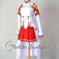 Sword Art Online Asuna Yuuki Cosplay Costume - Custom-made in sizes