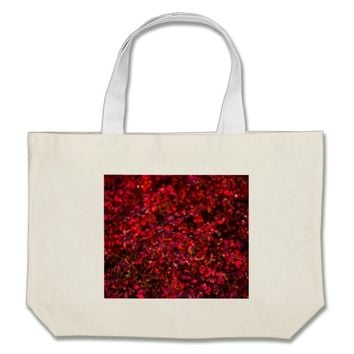 Autumn Flames Large Tote Bag