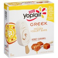 Walmart: Yoplait Low Fat Honey Caramel Frozen Greek Yogurt Bars, 2.65 fl oz, 6 count