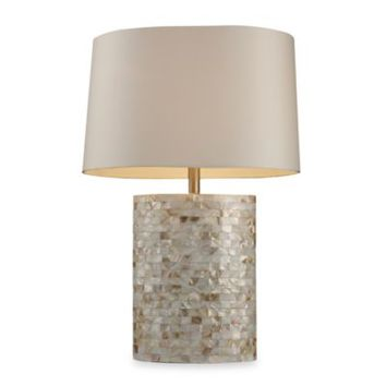 Best mother pearl table lamp products on wanelo dimond lighting trump home sunny isles mother of pearl table la aloadofball Choice Image