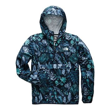 Men's Fanorak in Urban Navy Woodland Floral Print by The North Face