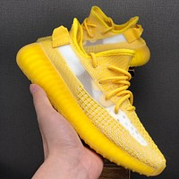 adidas Yeezy Boost 350 V2 Yellow Running Shoes - Best Deal Online