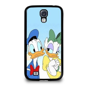 DONALD AND DAISY DUCK Disney Samsung Galaxy S4 Case Cover